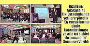 Kızıltepe Anafartalar İlk-Ortaokulunda...