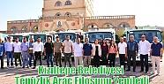 Kızıltepe Belediyesi Temizlik Araç Filosunu...