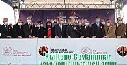 Kızıltepe-Ceylanpınar kara yolunun temeli...
