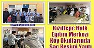 Kızıltepe Halk Eğitim Merkezi Köy Okullarında...
