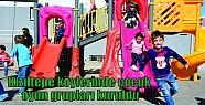 Kızıltepe köylerinde çocuk oyun grupları...