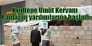Kızıltepe Umut Kervanı Ramazan yardımlarına...
