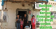 Kızıltepe Umut Kervanı Ramazan'da 330...
