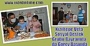Kızıltepe Vefa Sosyal Destek Grubu Bayramda...
