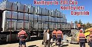 Kızıltepe'de 200 Çöp Konteyner Dağıtıldı
