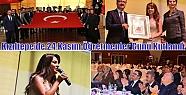 Kızıltepe'de 24 Kasım Öğretmenler Günü...