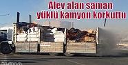 Kızıltepe'de Alev Alan Saman Yüklü...