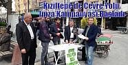 Kızıltepe'de Çevre Yolu İmza Kampanyası...