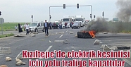 Kızıltepe'de elektrik kesintisi için...