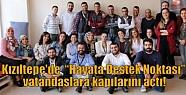 """Kızıltepe'de 'Hayata Destek Noktası""""..."""