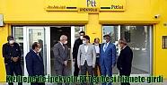 Kızıltepe'de İpekyolu PTT şubesi hizmete...