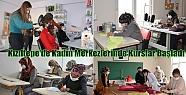 Kızıltepe'de Kadın Merkezlerinde Kurslar...