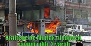 Kızıltepe'de Mutfak tüpünden yangın...