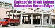Kızıltepe'de Nikah Salonu Çalışmaları...