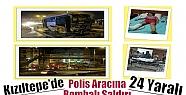 Kızıltepe'de Polis Aracına Bombalı...