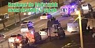 Kızıltepe'de Polis zırhlı aracı devrildi:...