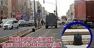 Kızıltepe'de şüpheli çanta polisi...