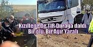 Kızıltepe'de TIR Durağa daldı: Bir ölü,...