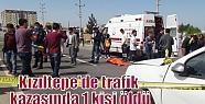 Kızıltepe'de trafik kazasında 1 kişi...