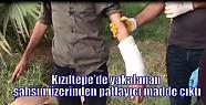 Kızıltepe'de yakalanan şahsın üzerinden...