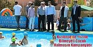 Kızıltepe'de Yüzme Bilmeyen Çocuk...