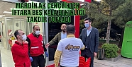MARDİN AK GENÇLİKTEN İFTARA BEŞ KALA...