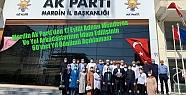 Mardin Ak Parti'den 17 Eylül Adnan Menderes...