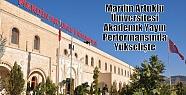 Mardin Artuklu Üniversitesi Akademik Yayın...
