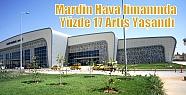 Mardin Hava limanında Yüzde 17 Artış...