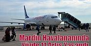 Mardin Havalananında Yüzde 11 Artış...
