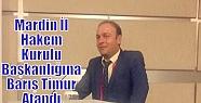 Mardin İl Hakem Kurulu Başkanlığına...