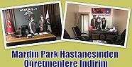 Mardin Park Hastanesinden Öğretmenlere...