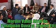 Mardin Valisi Afrin'de Yaralanan Duva'yı...