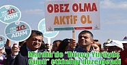 """Mardin'de 'Dünya Yürüyüş Günü""""..."""