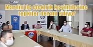 Mardin'de elektrik kesintilerine tepkiler...