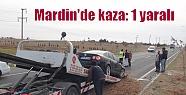 Mardin'de kaza: 1 yaralı