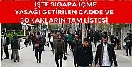 Mardin'de Sigara Yasağının Uygulanacağı...