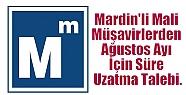 Mardin'li Mali Müşavirlerden Ağustos...