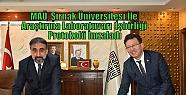 MAÜ, Şırnak Üniversitesi İle Araştırma...