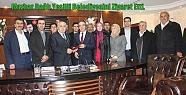 Mazhar Bağlı,Yeşilli Belediyesine Ziyarette...