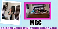 MGC 6 OLAĞAN KONGRESİNİ TARİHİ BİNADA...