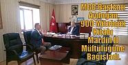 MGC Başkanı Aydoğan,900 Mitolojik Kitabı...