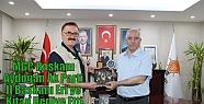 MGC Başkanı Aydoğan Ak Parti İl Başkanı...