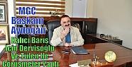 MGC Başkanı Aydoğan,Kalıcı Barış...