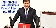 Milletvekili Demirkaya'nın Covid-19 testi...