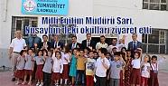 Milli Eğitim Müdürü Sarı, Nusaybin'deki...