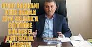 MTDF BAŞKANI ÖTER BAKAN ZİYA SELÇUK'A...