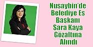 Nusaybin'de Belediye Eş Başkanı Sara...
