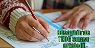 Nusaybin'de TEOG sınavı erteledi