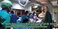Prof. Dr. Ertaş, ameliyatsız kalp kapağını...